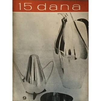 15 DANA ČASOPIS 1963. BROJ 9